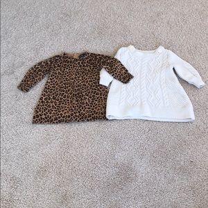2 Baby Gap Dresses size 3-6 months